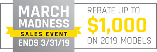 2019 March Madness Sales Event