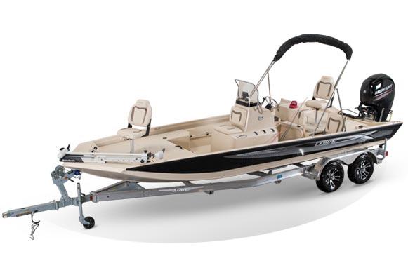 2020 Lowe Aluminum Bay Boats