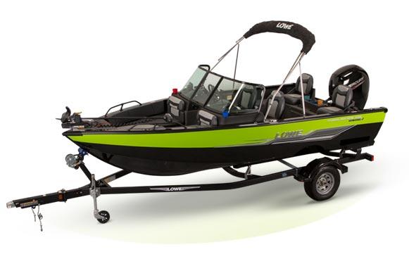 Lowe FM Fishing Machine Series Aluminum Boats