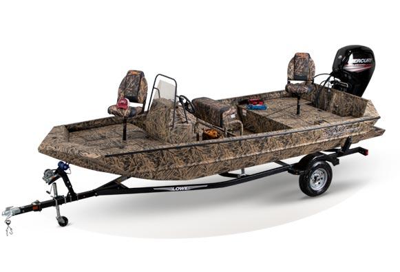 Roughneck Aluminum Hunting Jon Boats