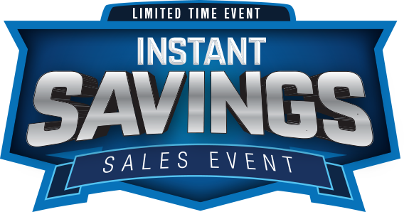 Save up to $1,250 with Instant Savings