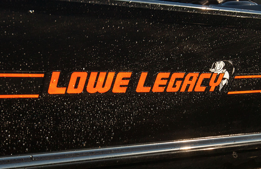 Lowe Legacy Boat Graphics