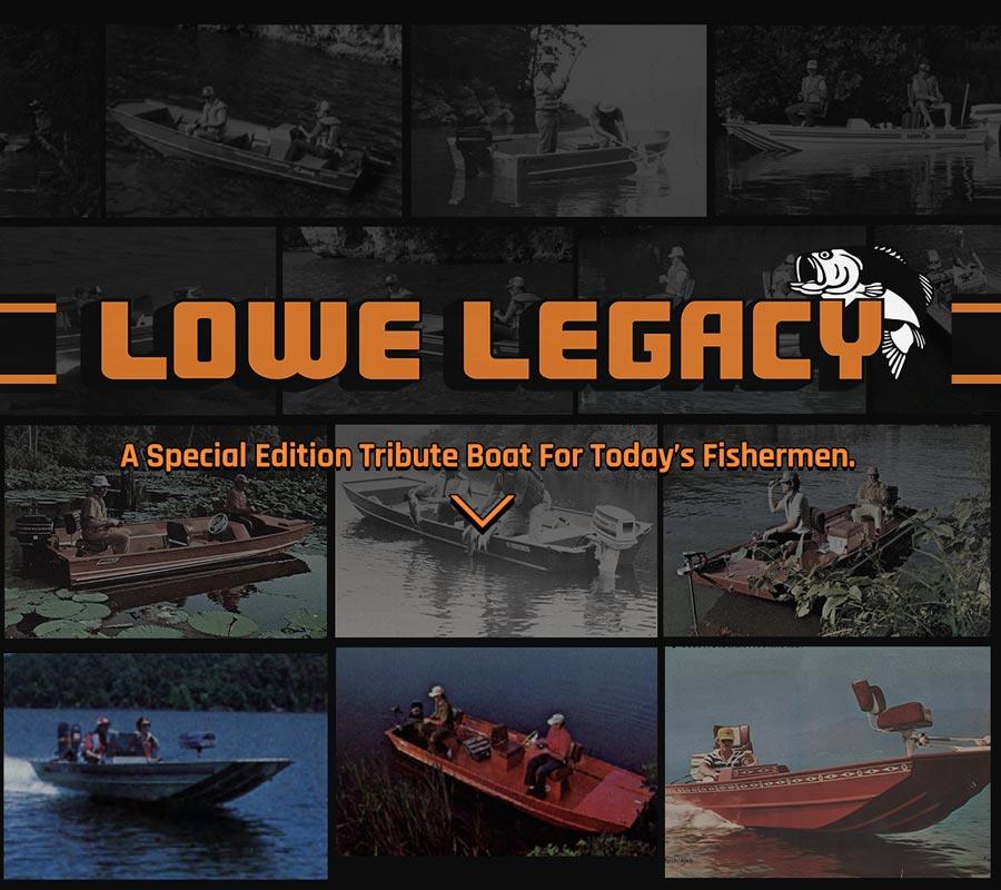 2020 Lowe Boats Legacy Boat