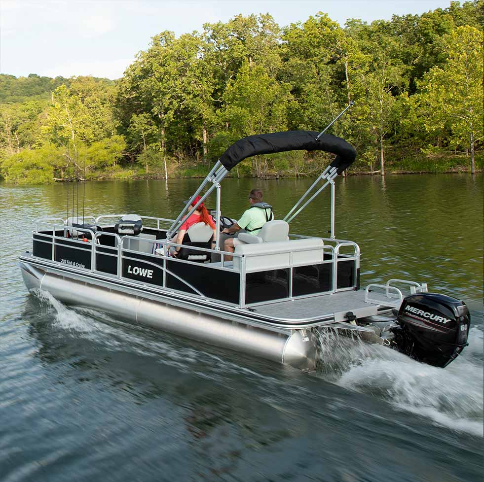 2020 Lowe Pontoon Boats - Sport, Fishing, Party and Luxury