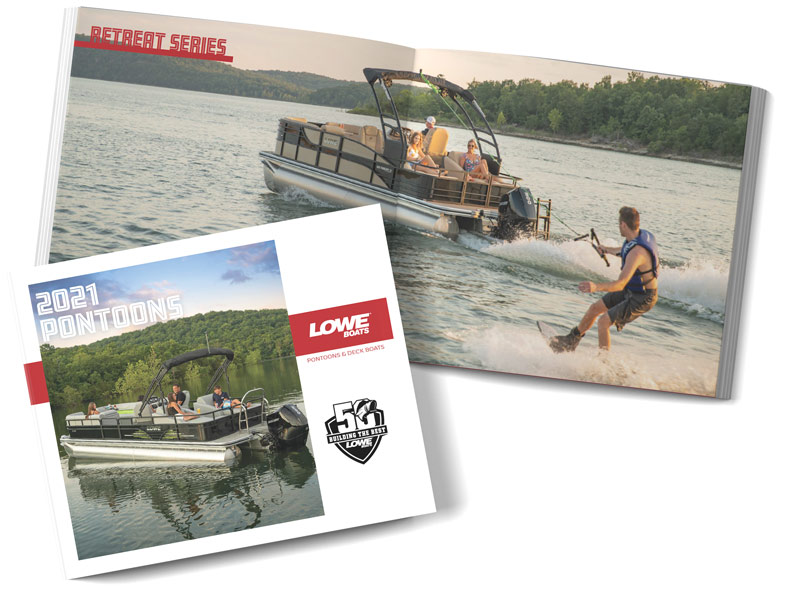 Lowe Pontoon Boat 2021 Catalog