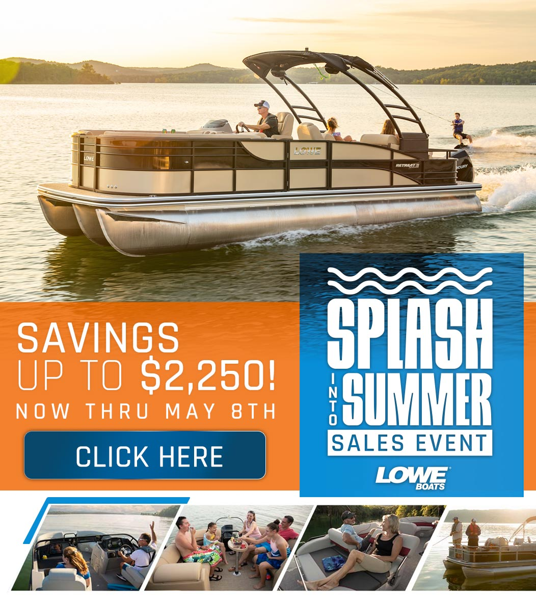 2020 Lowe Boats Instant Savings Offer