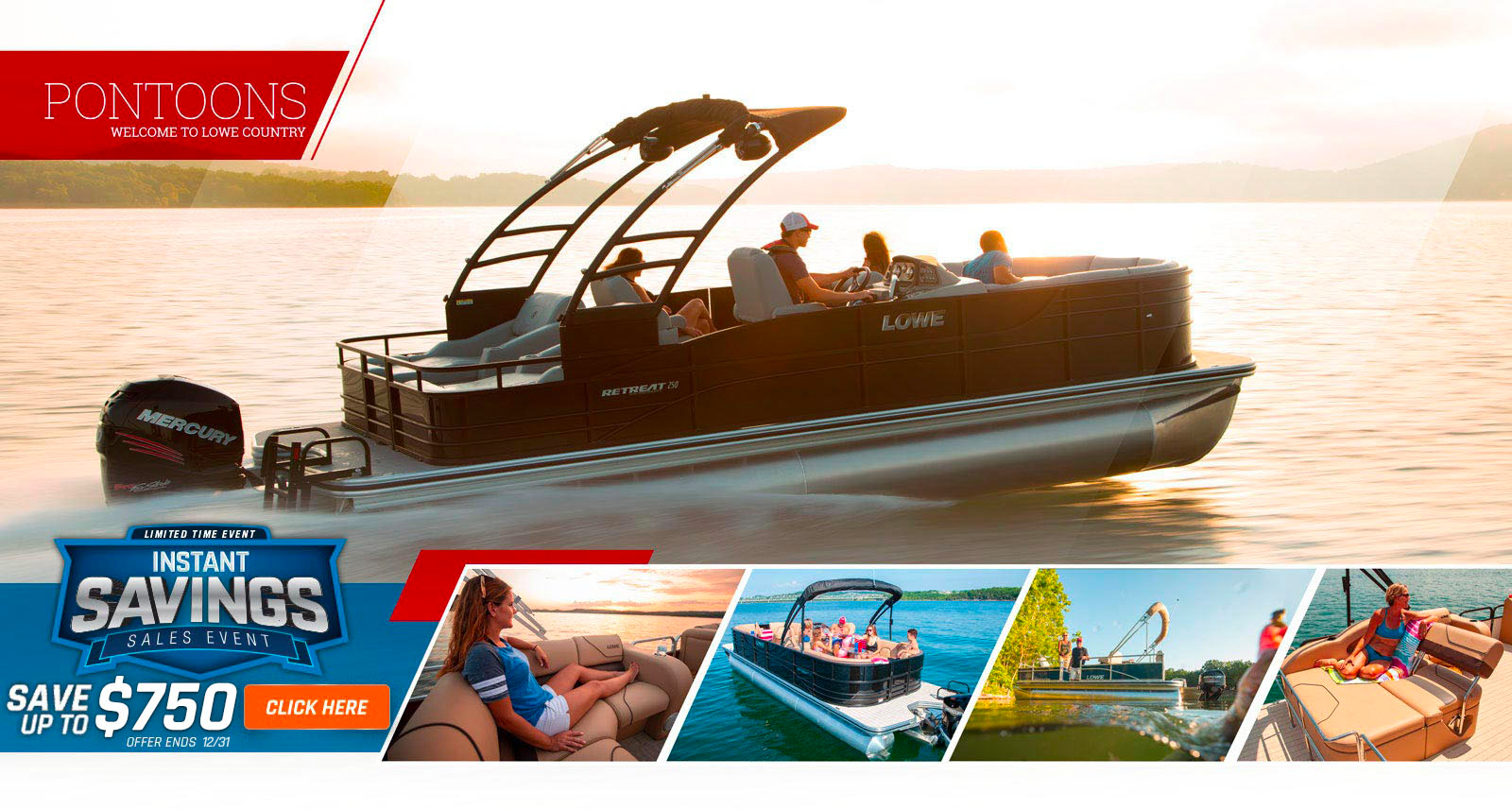 2019 Lowe Boats Instant Savings Offer - Up to $1,250 Off - Expires 6/30d