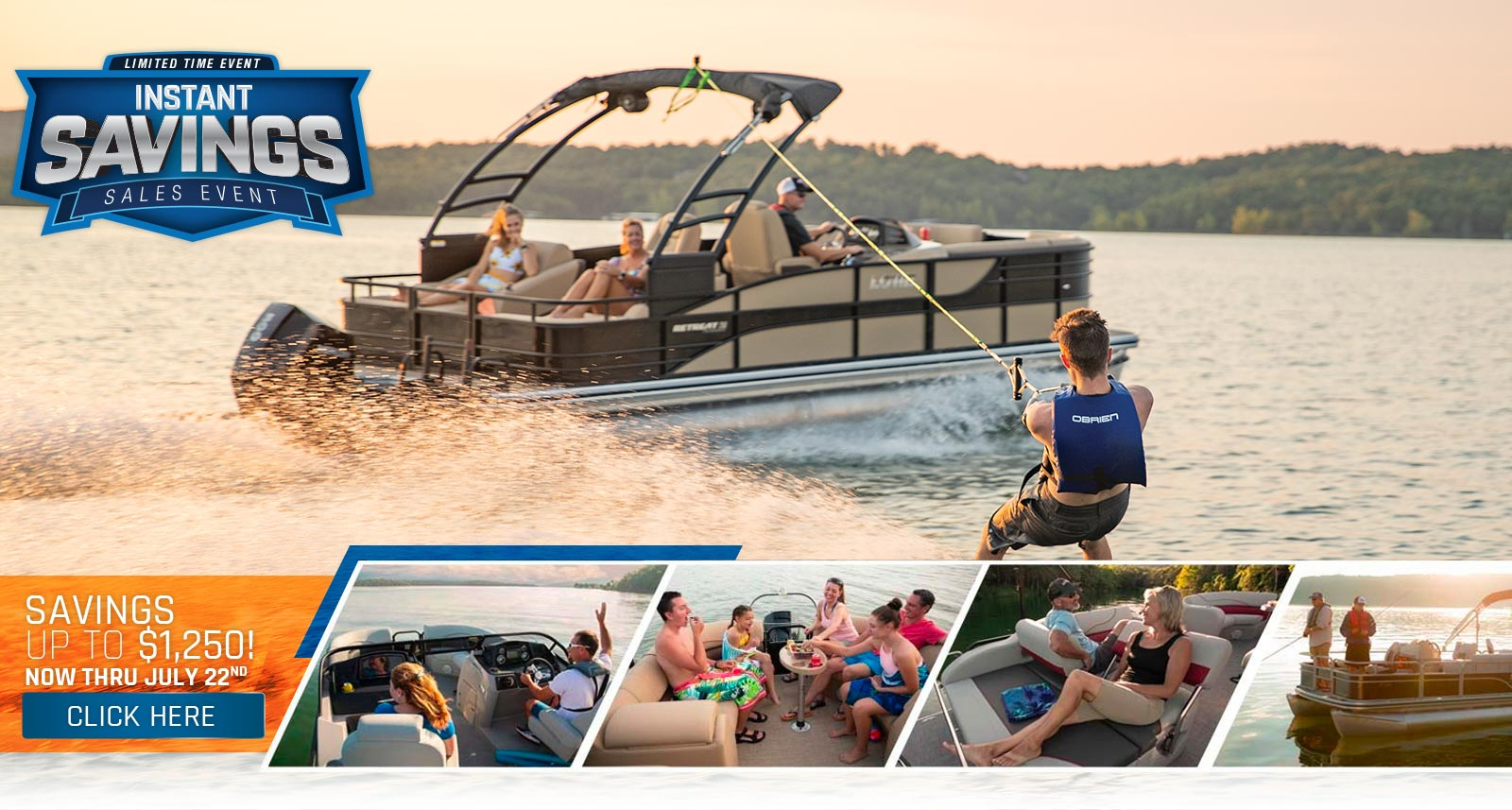 2020 Lowe Boats Instant Savings Offer - Up to $2,250 Off - Expires May 8th