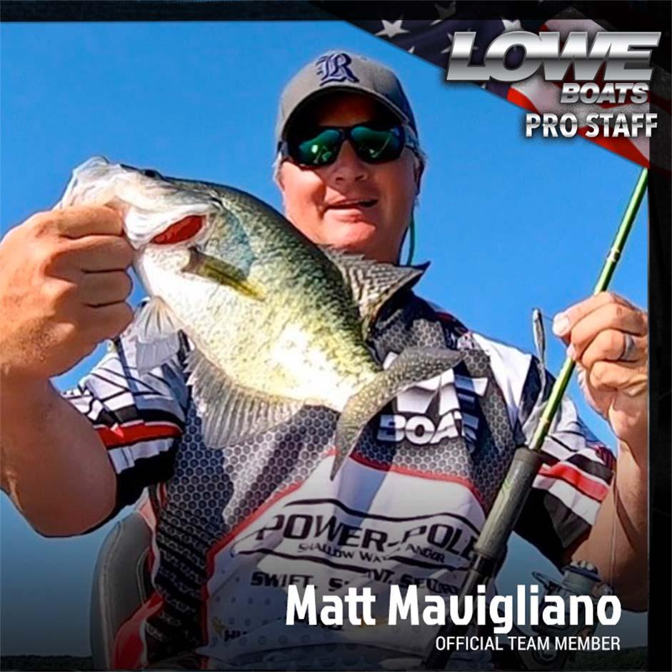 Matt Mavigliano Pro Fisherman
