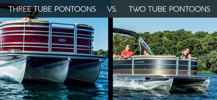 3 Tube vs 2 Tube Pontoons