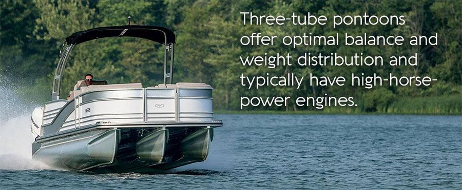 3 Tube pontoons - Tritoons