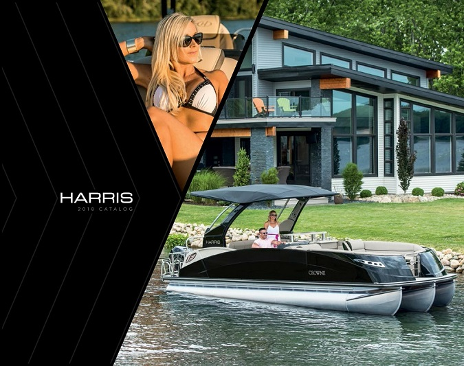 Click For Options To View The Harris Boats Pontoon Catalog.