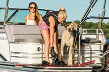 Tips to boating with Dogs.
