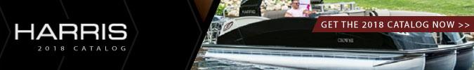 Boston Boat Show Harris Pontoons Catalog