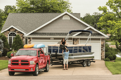 Trailering Your Pontoon Boat Tips