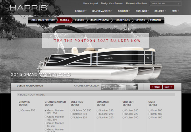 Harris Pontoon Boats - Pontoon Boat Builder