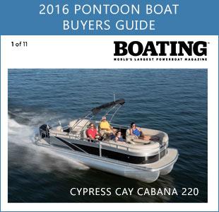 cypress cay cabana 220 featured in boating magazine s 2016 boat rh cypresscaypontoons com pontoon boat buyers guide 2017 pontoon boat buying guide reviews