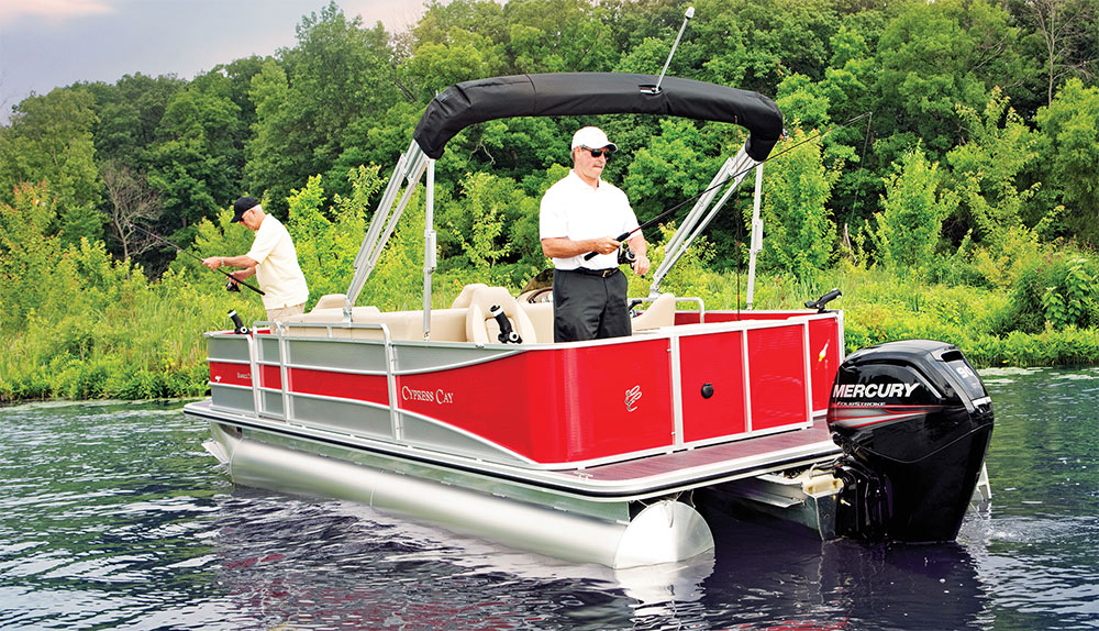 Fishing Pontoon Boats