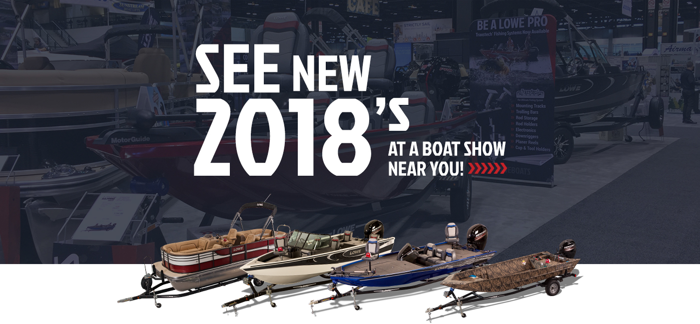 2018 Boat Show Schedule