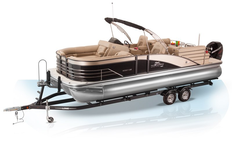 2018 lowe pontoon boats sport fishing party and luxury for Luxury fishing boats