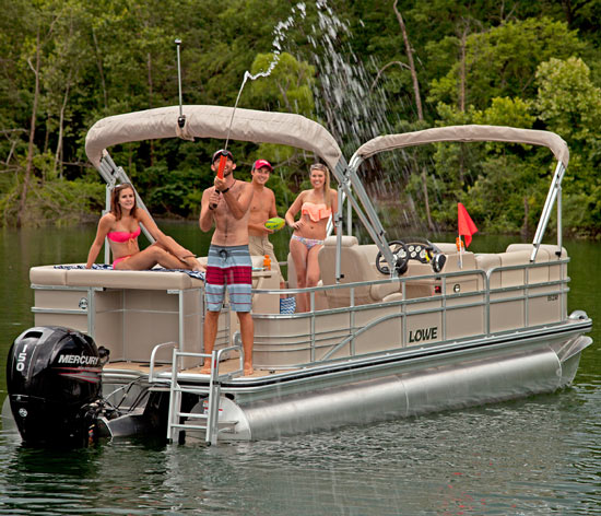 Lowe Pontoon Boat Covers Enclosures Double Biminis And Options