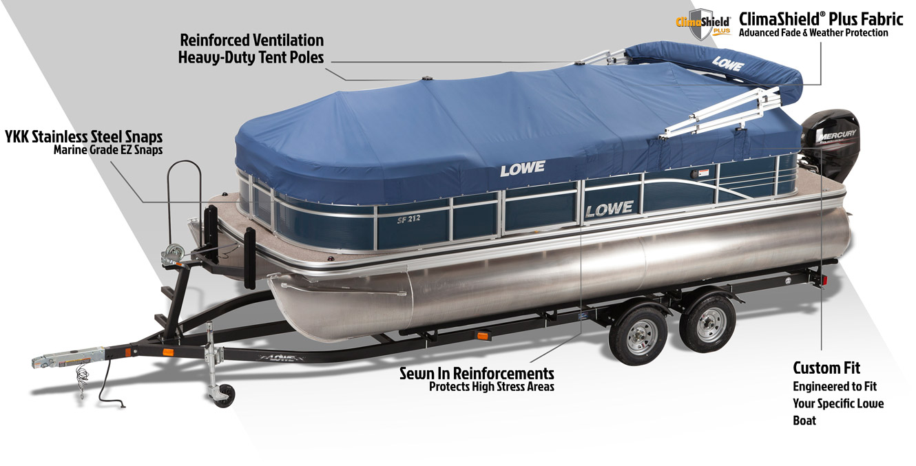 Premium Pontoon Boat Covers