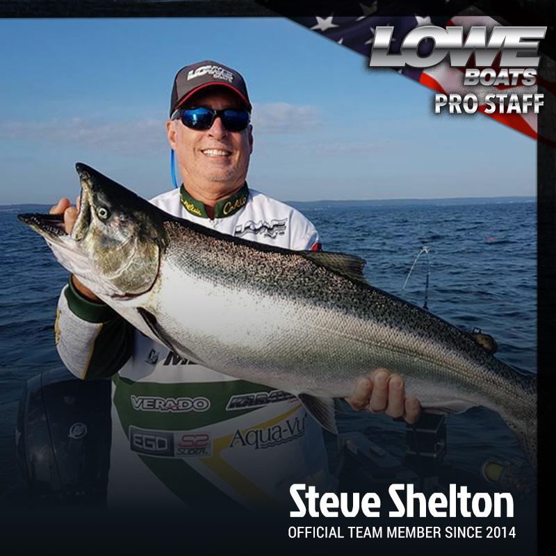 Steve Shelton Pro Fisherman