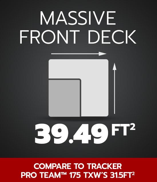 Massive Front Deck