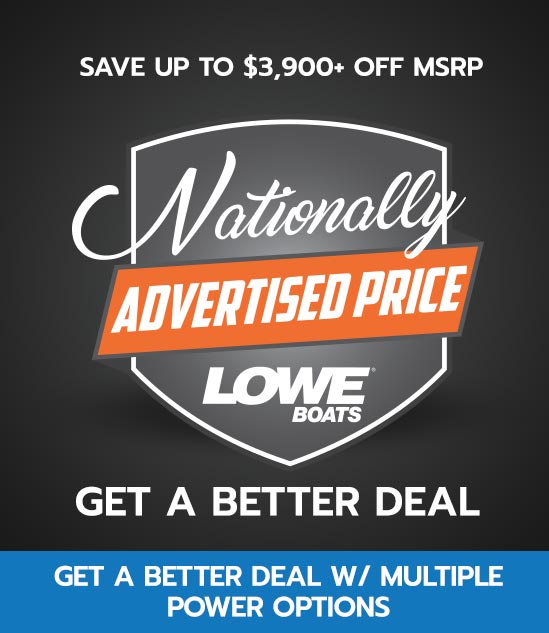 Nationally Advertised Pricing